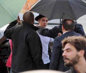 Zoolander 2 : Justin Bieber sur le tournage avec Ben Stiller avant la sortie au cinéma en mars 2016