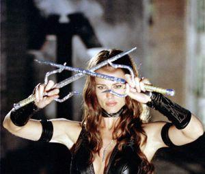 Jennifer Garner dans le rôle d'Elektra dans le film Daredevil