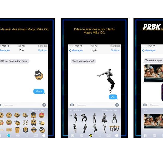 Magic Mike XXL : une application sexy pour faire monter le température de vos sms