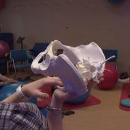 Benjamin Machet (Les Anges All Stars) papa investi au côté de Sarah pendant un cours d'accouchement