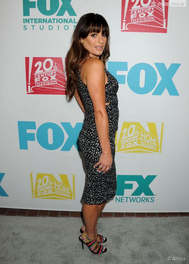 Lea Michele sexy pour la soirée Fox, le 10 juillet 2015 à San Diego