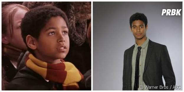 Alfred Enoch (Dean) : à gauche dans Harry Potter en 2001, à droite dans la série Murder en 2014