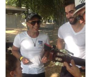 Kendji Girac : quand Manuela Diaz, 6 ans, chante Andalouse, le vainqueur de The Voice est bluffé