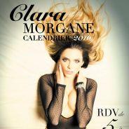 Clara Morgane dévoile la couverture sexy de son calendrier 2016