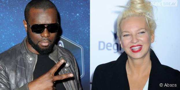 """Maitre Gims et Sia en duo sur l'album """"Mon Coeur Avait Raison"""""""