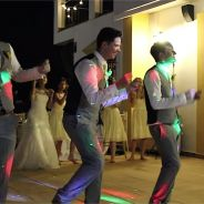 Des jeunes mariés impressionnent le web avec une première danse délirante