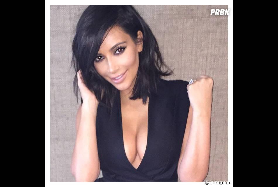 Kim Kardashian et son décollecté sexy sur Instagram, le 4 mars 2015