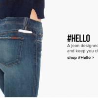 """Stop aux problèmes de batterie, voici le jean qui """"recharge"""" votre smartphone !"""