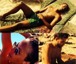 Dounia Coesens, David Baiot et Marwan Berreni de Plus belle la vie en Espagne pour les vacances d'été 2015