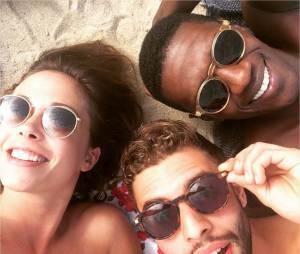 Dounia Coesens, David Baiot et Marwan Berreni : les acteurs de Plus belle la vie à Barcelone pour les vacances d'été 2015