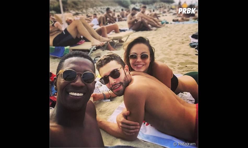 Dounia Coesens, David Baiot et Marwan Berreni : les acteurs de Plus belle la vie en Espagne pour les vacances d'été 2015