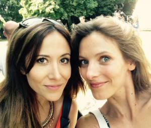 Fabienne Carat et Elodie Varlet : les stars de Plus belle la vie en juillet 2015