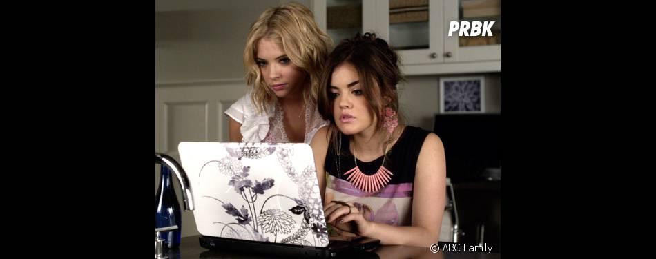 Pretty Little Liars : Lucy Hale et Ashley Benson sur une photo