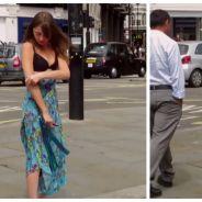 Elle se déshabille en pleine rue à Londres, mais ce n'est pas une exhibitionniste