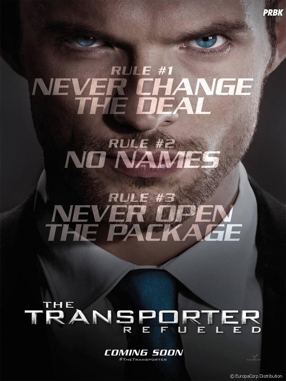 Le Transporteur - Héritage : l'affiche américaine