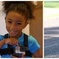 Trop mignon : une petite fille filme son tout 1er jour d'école. Souvenirs, souvenirs...