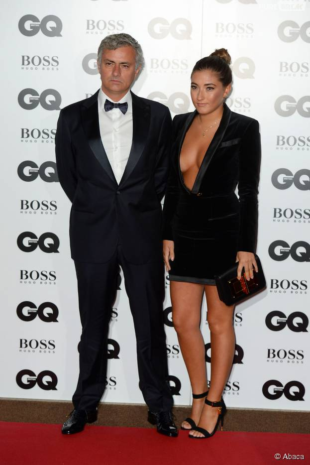 José Mourinho et Matilde Mourinho aux GQ Men of the Year Awards, le 8 septembre 2015 à Londres