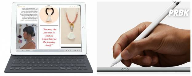 Smart Keyboard et Apple Pencil