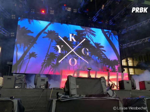 Kygo en concert au festival Lollapalooza 2015 à Berlin, le 12 septembre 2015