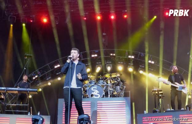 Sam Smith en concert au festival Lollapalooza 2015 à Berlin, le 12 septembre 2015