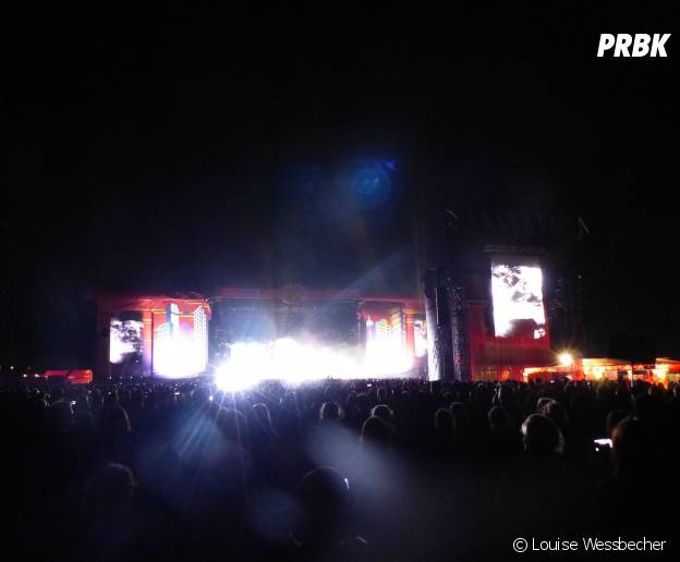 Muse en concert au festival Lollapalooza 2015 à Berlin, le 13 septembre 2015