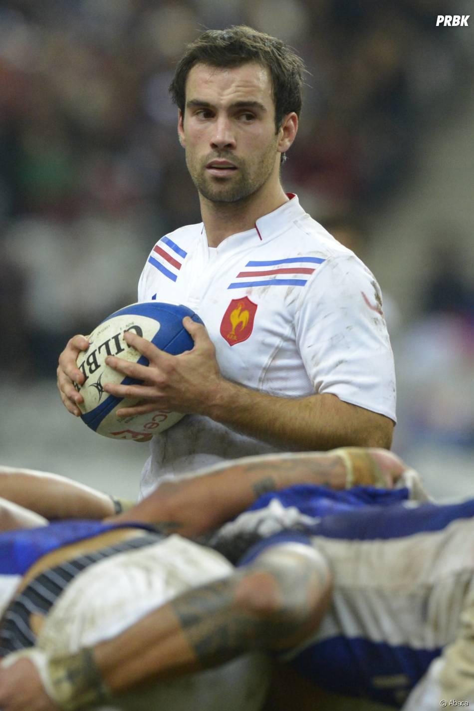 Morgan Parra, l'un des beaux gosses du Mondial 2015 de rugby