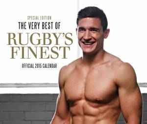 Danny Gare : le sexy rugbyman anglais en couv du calendrier Rugby's Finest 2015