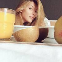 Camille Cerf : Miss France 2015 sans maquillage sur Twitter