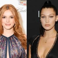 Bella Thorne et Bella Hadid victimes d'un accident d'avion