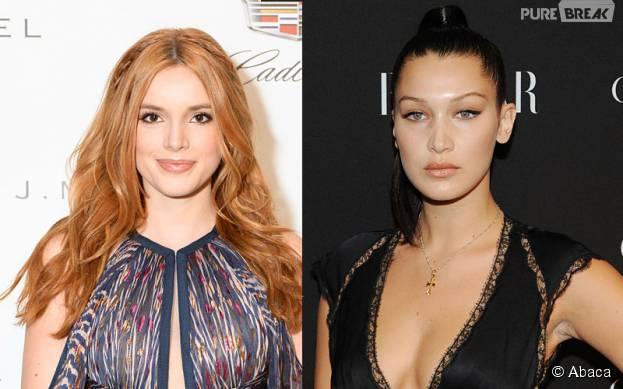 Bella Thorne et Bella Hadid victimes d'un accident d'avion à New York le 19 septembre 2015