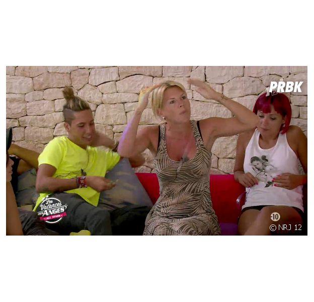 Les Vacances des Anges : Amélie Neten très énervée par Caroline