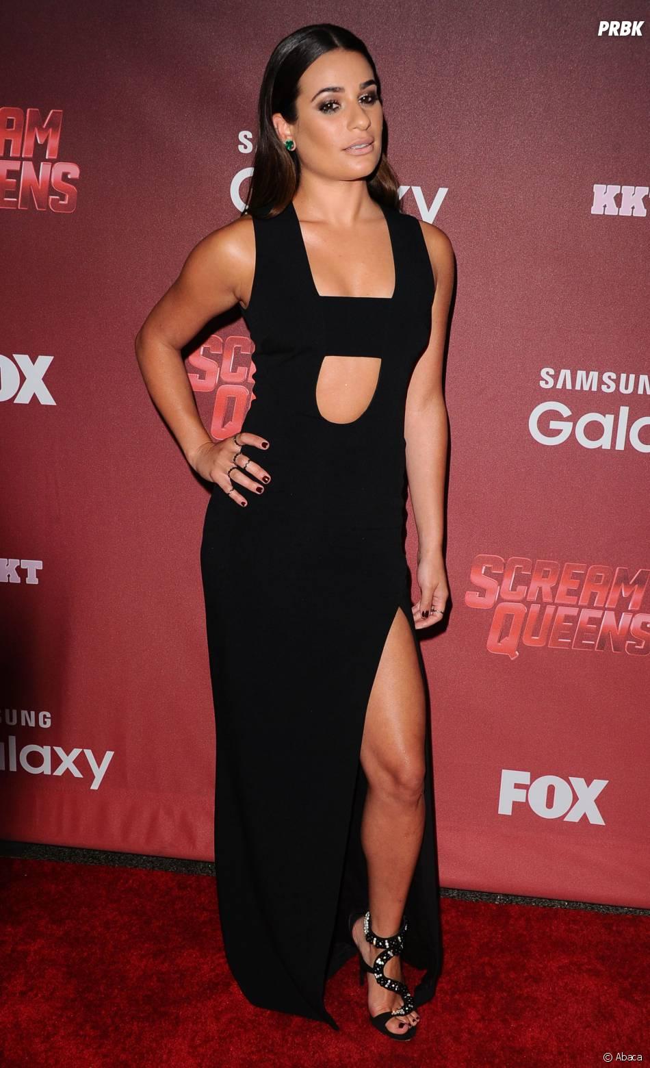 Lea Michele sensuelle à l'avant-première de Scream Queens, le 21 septembre 2015 à Los Angeles