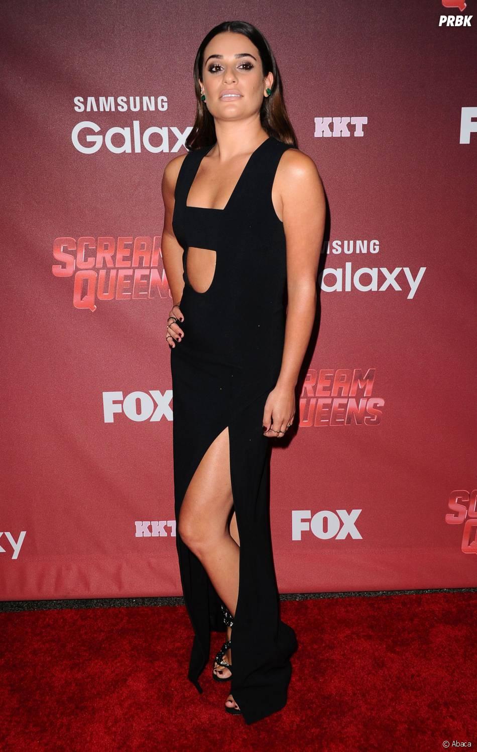 Lea Michele à l'avant-première de Scream Queens, le 21 septembre 2015 à Los Angeles