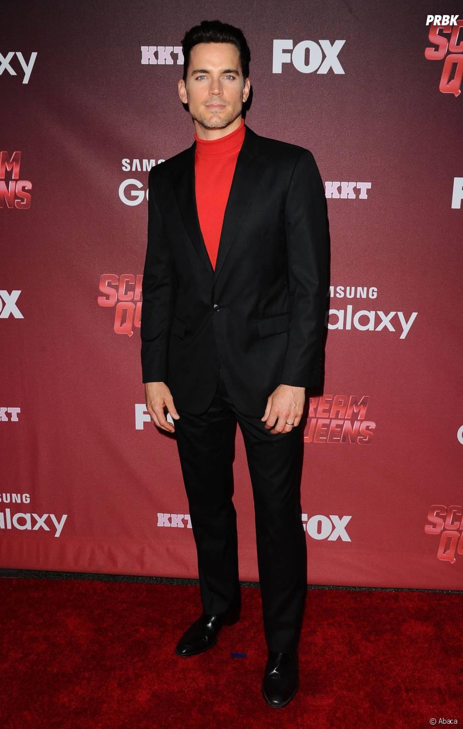 Matt Bomer à l'avant-première de Scream Queens, le 21 septembre 2015 à Los Angeles