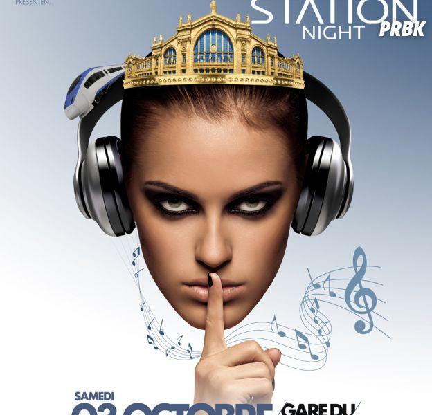Silent Station Night à la Gare du Nord, le samedi 3 octobre 2015
