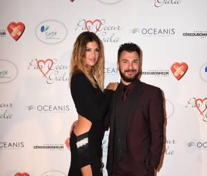 Isabelle Funaro sexy et Michaël Youn sur le tapis rouge du gala Par Coeur au profit de l'association Cé Ke Du Bonheur à Paris, le 24 septembre 2015