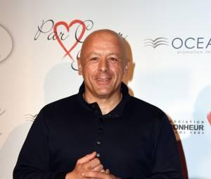 Thierry Marx sur le tapis rouge du gala Par Coeur au profit de l'association Cé Ke Du Bonheur à Paris, le 24 septembre 2015