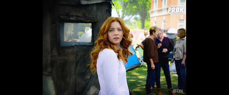 Under the Dome saison 3 : Rachelle Lefevre sur une photo