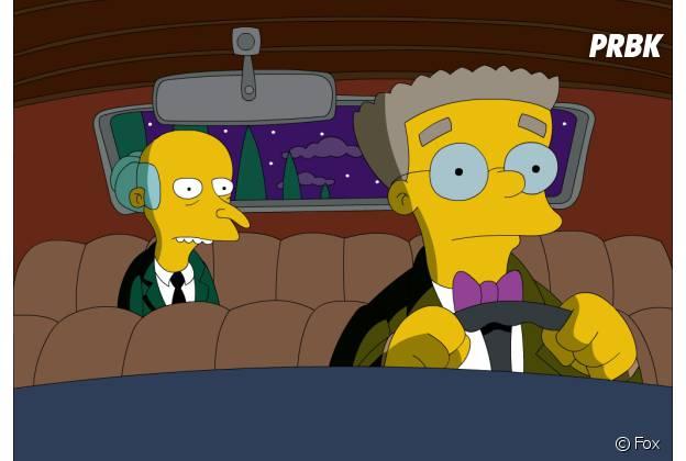Smithers va révéler qu'il est gay lors de la saison 27 des Simpson