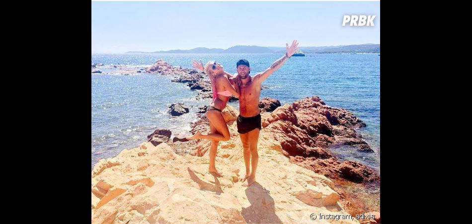 Adixia et Paga (Les Ch'tis VS Les Marseillais) en vacances en Corse