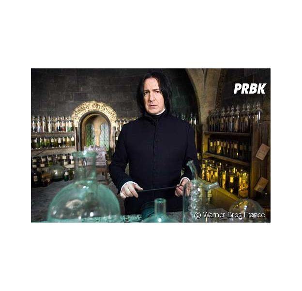Harry Potter : la révélation délirante de J.K. Rowling sur Rogue