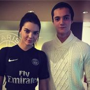 Louis Sarkozy s'offre une selfie avec Kendall Jenner dans les coulisses du match PSG-OM