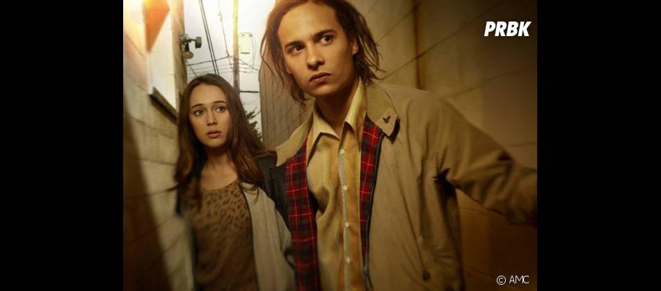 Fear The Walking Dead :Alycia Debnam-Carey et Frank Dillane au casting