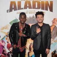 Kev Adams, Black M, Vanessa Guide sexy... à l'avant-première des Nouvelles Aventures d'Aladin