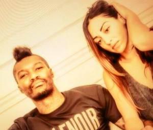 Djibril Cissé et sa compagne Marie-Cécile complices sur Twitter