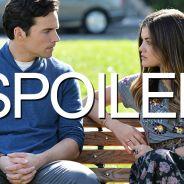 Pretty Little Liars saison 6 : Lucy Hale parle de l'avenir amoureux d'Aria et Ezra