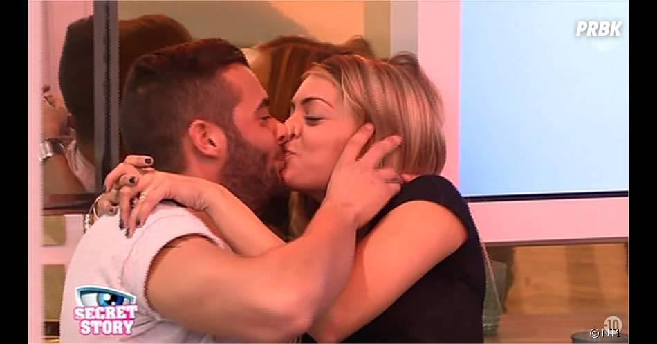 Secret Story 9 : Mélanie et Loïc s'embrassent enfin