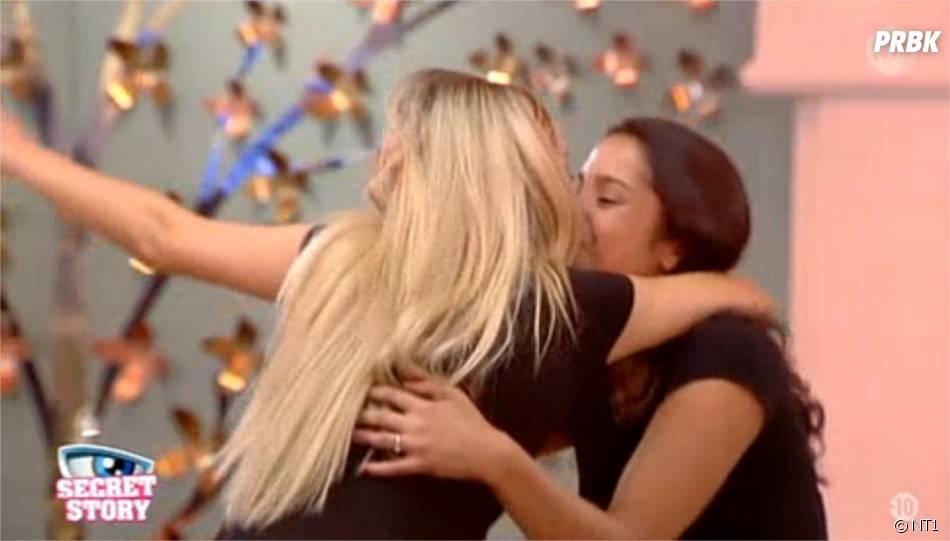 Secret Story 9 : Karisma et Mélanie s'embrassent