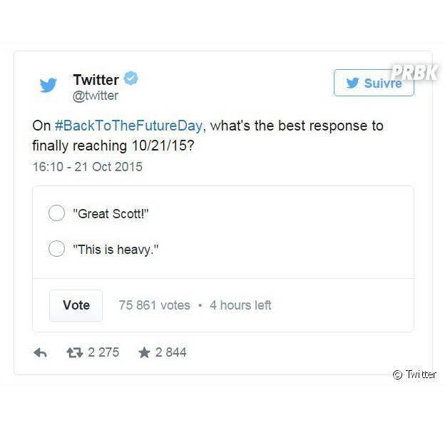 """Twitter : la fonctionnalité """"sondage"""" bientôt disponible pour tous les utilisateurs"""
