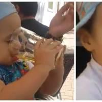Deux hommes font boire et fumer un petit garçon : la vidéo qui choque le web